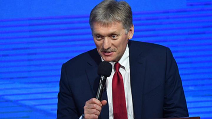 Пресс-секретарь Путина не поверил, что губернатор Осипов превысил свои полномочия