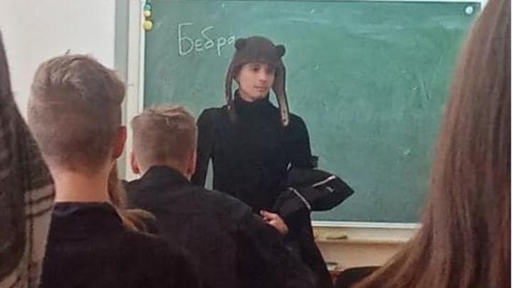 Уроженец Новосибирска музыкант Слава Марлоу посетил родную школу