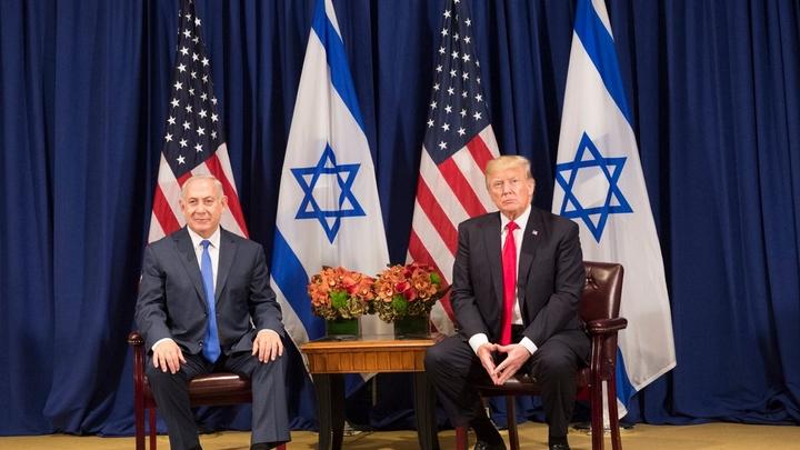 Трамп стал президентом с помощью лидера Израиля Нетаньяху