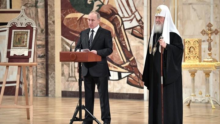Владимир Путин — кандидат от русского православного большинства