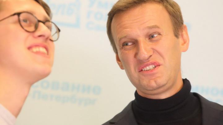 Устроивших провокацию Бессмертному полку высмеяли карикатурой за поклонение Навальному