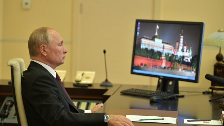 Как слово по-русски?: Путин вспомнил экстремальный прыжок и перешёл на язык Меркель