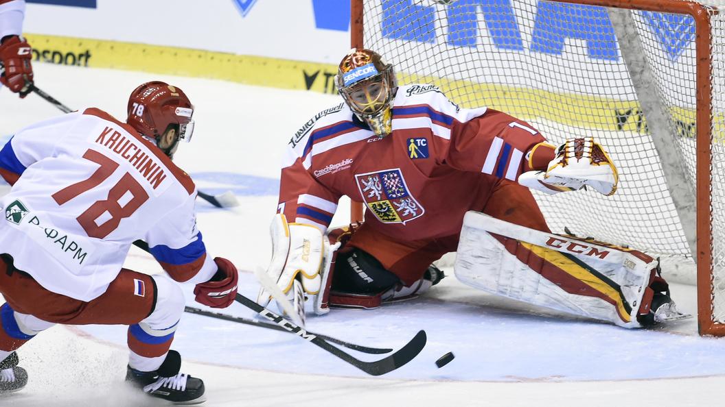 Сборная Российской Федерации внесла новых четырех хоккеистов наЧМ