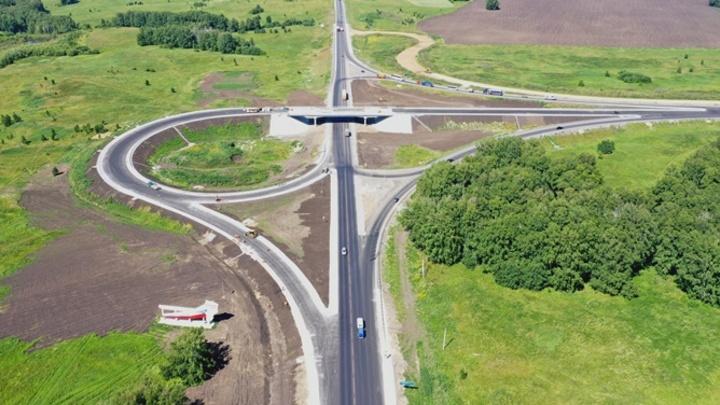 Новая транспортная развязка откроется на границе Кузбасса и Новосибирской области