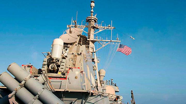 Жест отчаяния: Эсминцу США «Дональду Куку» нечего делать в Чёрном море