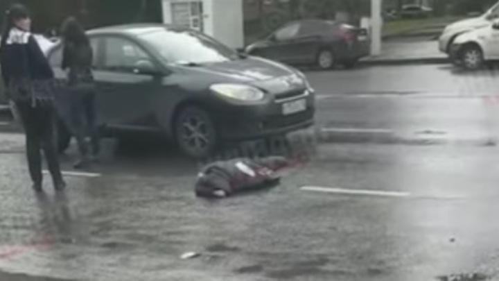 В центре города Кемерово автомобиль насмерть сбил пенсионерку