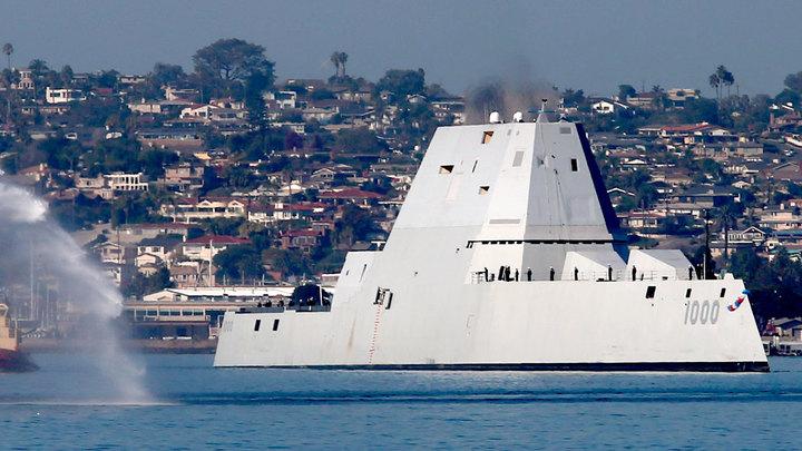 Американский корабль-мечта Zumwalt  превратился в чемодан без ручки