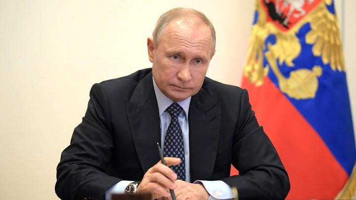 Путин начал совещание с оптимистичного заявления о коронавирусе