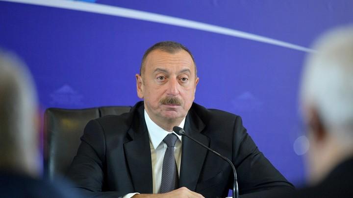 Ильхам Алиев на четвертый срок выдвинут кандидатом в президентыАзербайджана