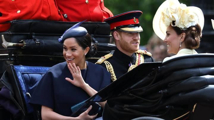 Меган Маркл блеснула кольцом вечности на дне рождения королевы