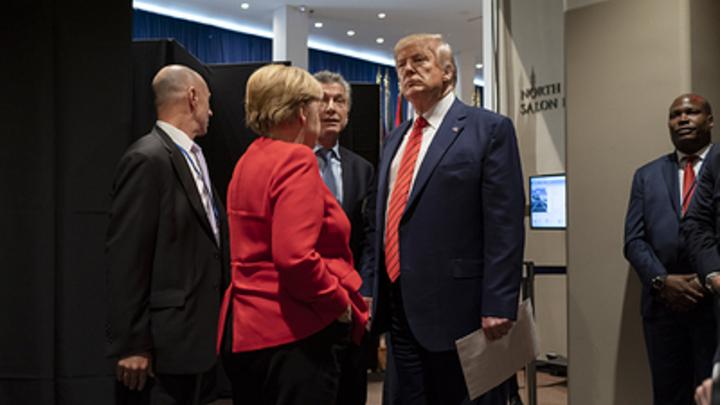 Ребяты, давайте так: Сделку Трампа и Германии разоблачили в прямом эфире. При чём тут Россия?
