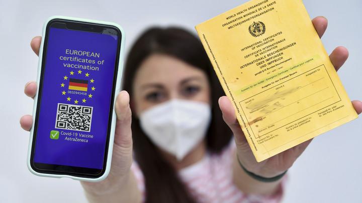 Украина обошла Россию с COVID-паспортами для ЕС