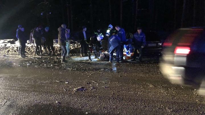 В аварии под Владимиром пострадали два человека
