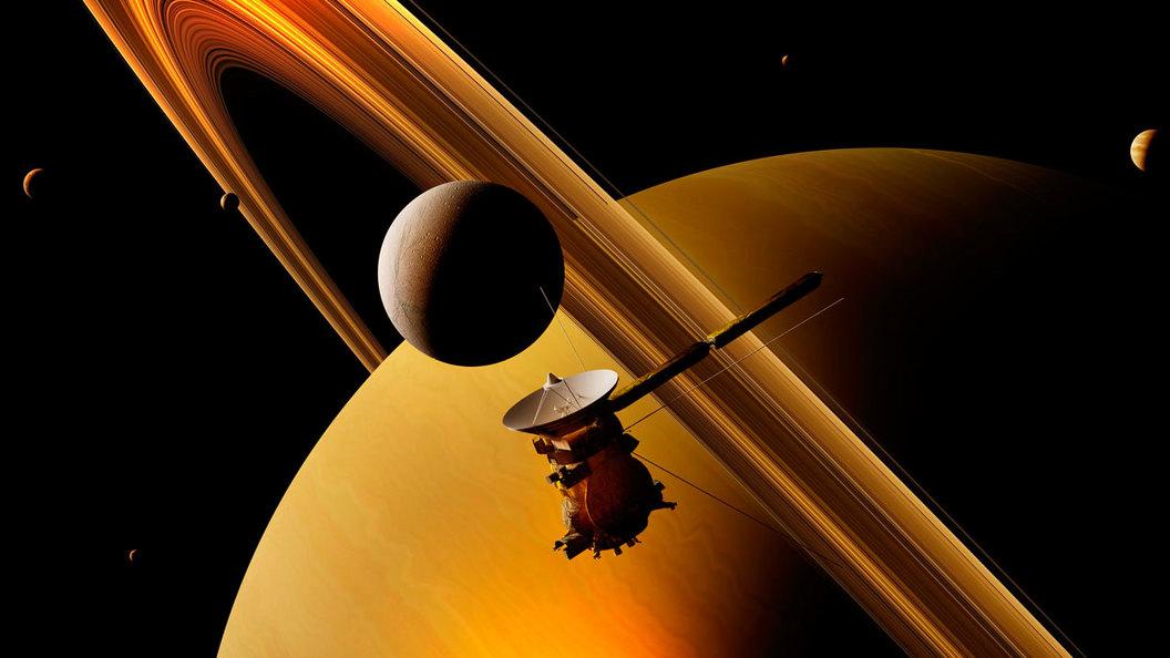 Вскоре человечество высадится на Сатурне
