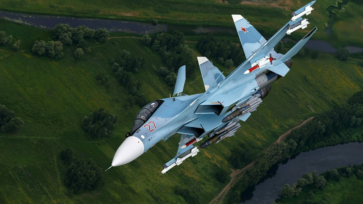 «Боролись до последнего»: В Минобороны назвали причину крушения Су-30СМ в Сирии