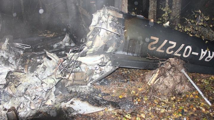 Пилот рухнувшего под Костромой вертолета был убит до аварии - источник