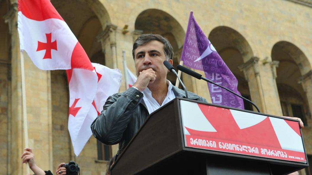 Саакашвили без паспортов смог добраться до Польши