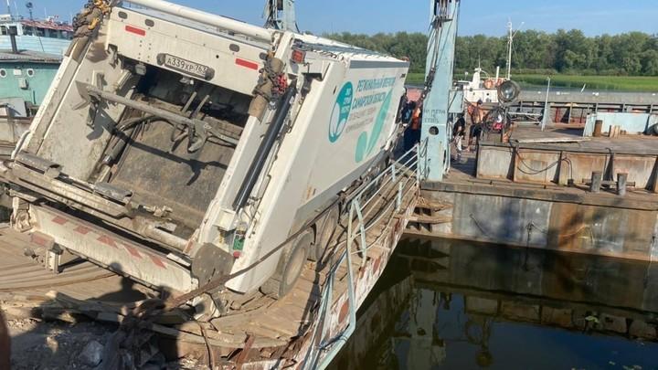 В Самаре восстановили грузовую переправу через Волгу в Рождественно