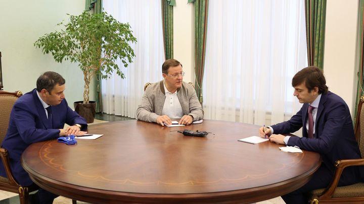 Опыт Самарской области по строительству новых школ будут тиражировать по всей России