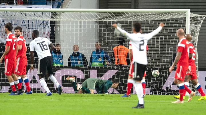Германия - Россия: Игра в одни ворота