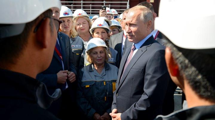 Путин дал старт созданию «сердца» дальневосточной «Звезды»