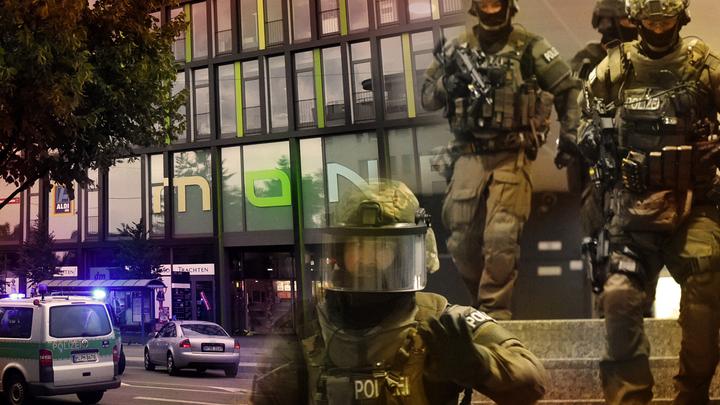 Теракт в Мюнхене: Стрелки бросились в бега