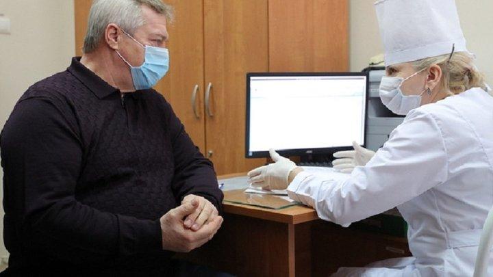Без осложнений: Губернатор Ростовской области прошёл курс вакцинации от коронавируса