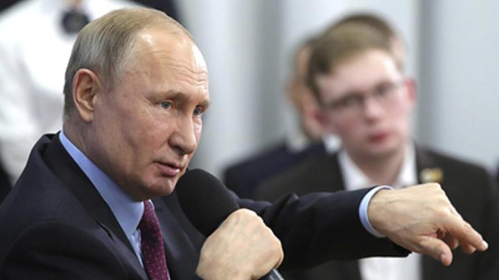 Путин поторопил с бесплатным интернет-доступом: Ускорить реализацию поручения