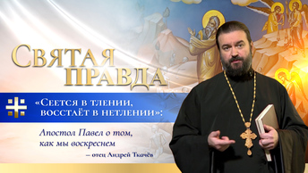 Сеется в тлении, восстаёт в нетлении: Апостол Павел о том, как мы воскреснем — отец Андрей Ткачёв
