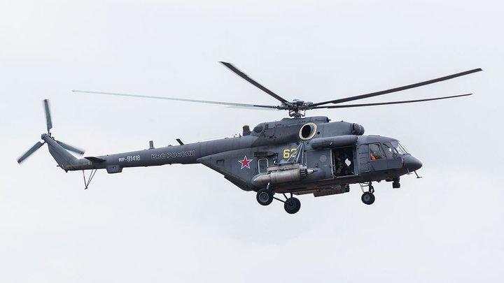 Жёсткая посадка Ми-8 в Подмосковье. Экипаж погиб - Минобороны