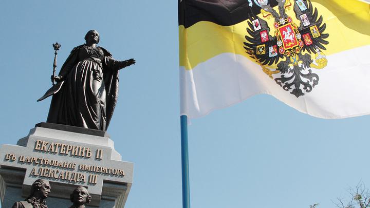 В Симферополе открыт бронзовый символ золотой эпохи