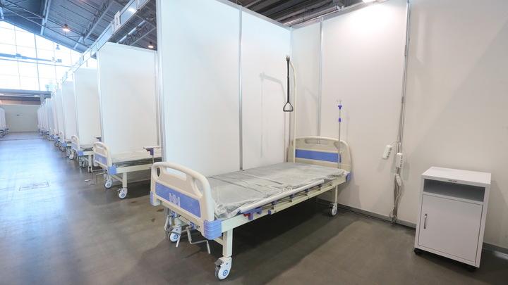 Госпитализация падает: в Санкт-Петербурге сократили число коронавирусных коек до 7,7 тысяч