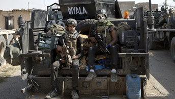 Христианские добровольцы в битве за Мосул
