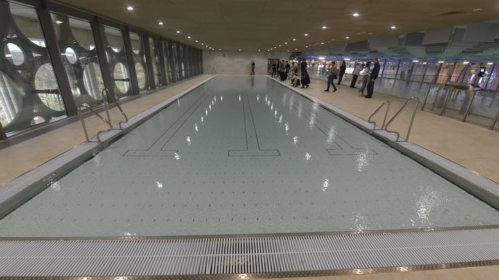 В челябинском бассейне благословение перепутали с освящением воды