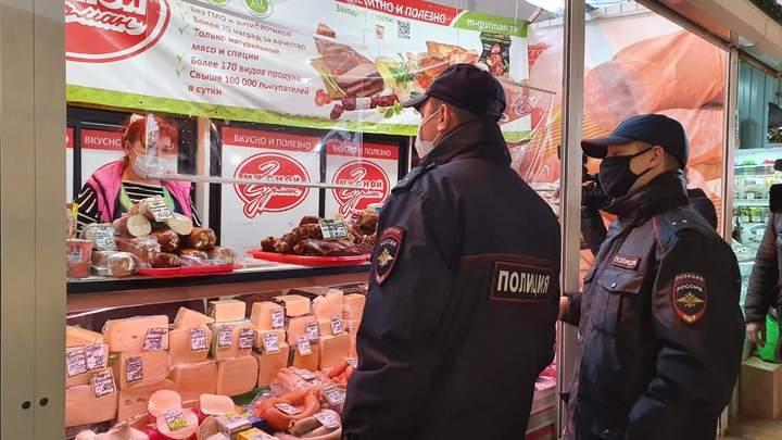 В Иванове полиция и Роспотребнадзор приостановили деятельность центрального рынка