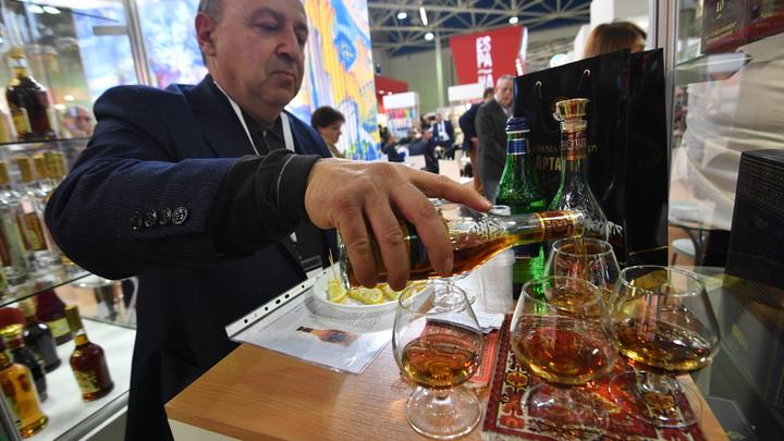 В России 60% коньяка на рынке оказалось суррогатом