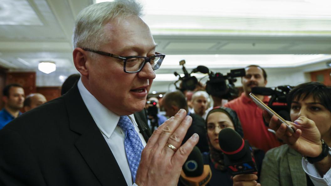 Рябков: Дальнейшие меры Россия будет принимать в зависимости от реакции США