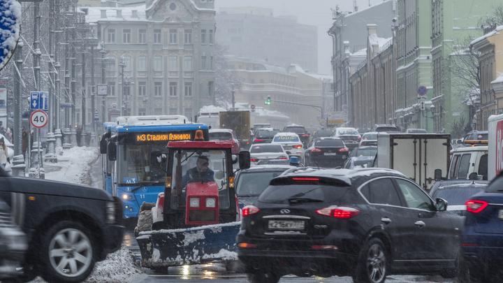Москва с нью-йоркскими пробками попала в топ мира по загруженности дорог