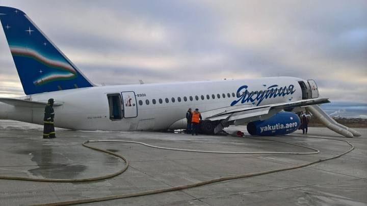 Выключили «реверсивное устройство»: Названа причина инцидента в аэропорту в Якутске