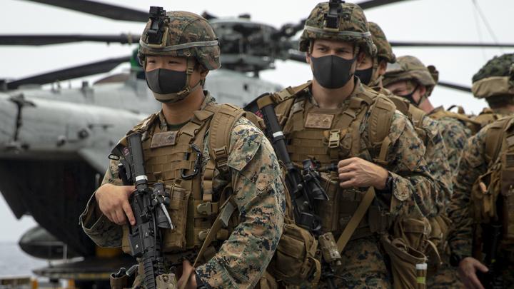 У границ России высадилась тысяча американских морпехов: Наступательная операция