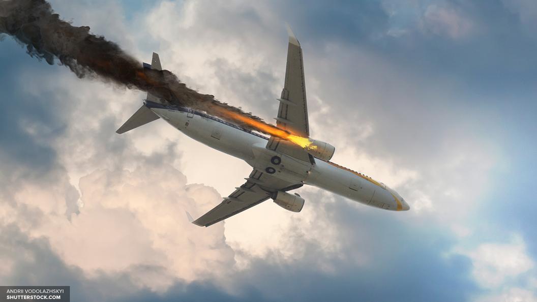 Появились первые фото с места крушения пассажирского самолета в Судане