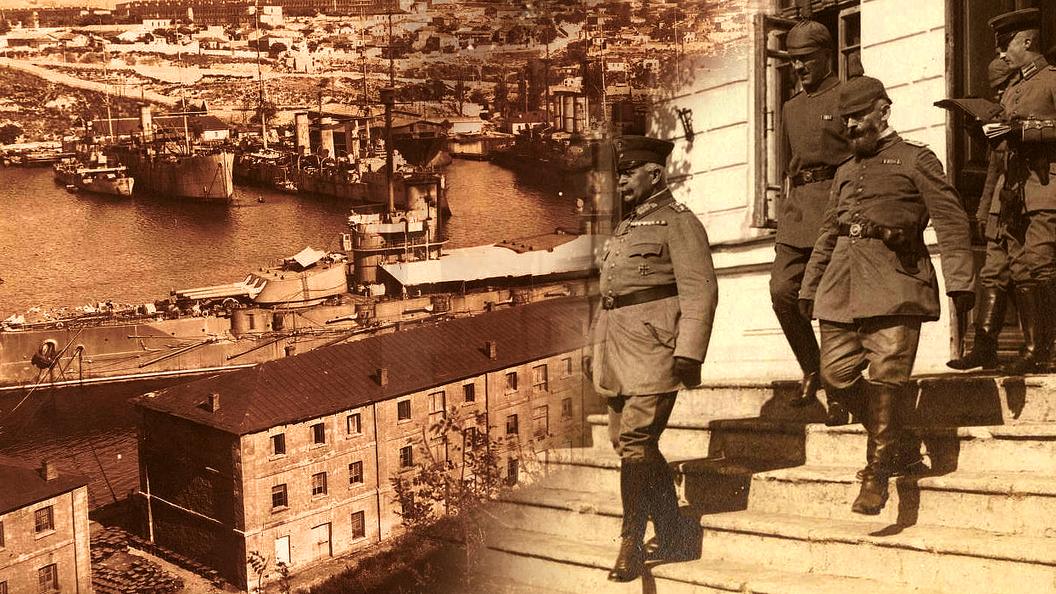 Украинская блокада Крыма: год 1918-й