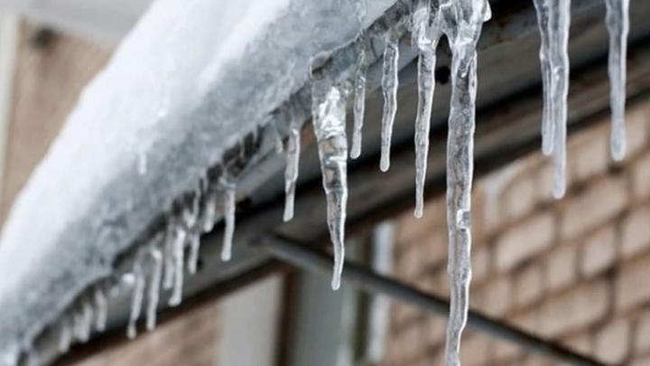 На Краснодар обрушился ледяной дождь