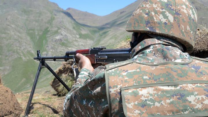 Территория у Черного озера на границе с Азербайджаном контролируется армянскими военными