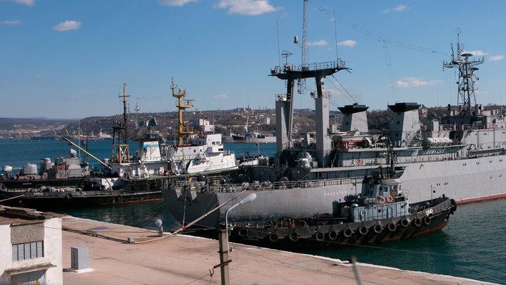 Металлолом из Крыма ждёт отправки на Украину