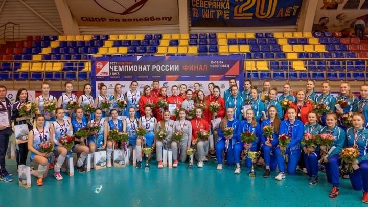 Волейболистки «Шуяночки» завоевали «бронзу» в первой лиге чемпионата России