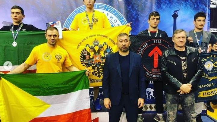 Забайкальцы завоевали пять медалей на первенстве страны по панкратиону в Севастополе