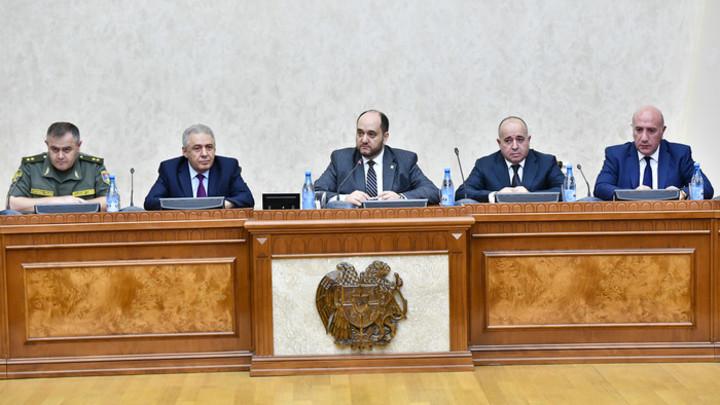 Офицерскому составу Вооруженных Сил Армении представили нового заместителя министра обороны