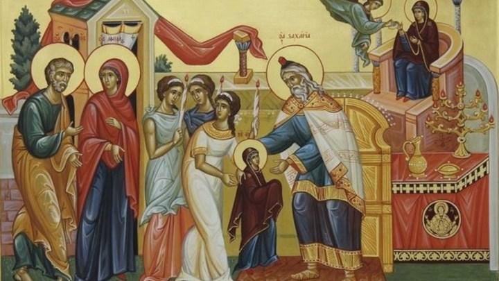 Первое чудо Девы Марии. Введение во храм Пресвятой Богородицы. Церковный календарь на 4 декабря