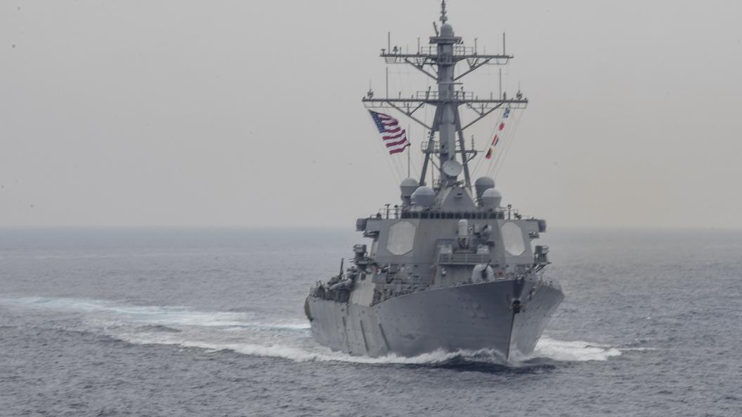 ВМС США подтвердили обнаружение погибших моряков в затопленной части эсминца Fitzgerald